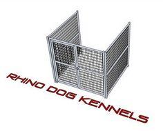 Heavy Duty Indoor/Outdoor Single Run Dog Kennel 6'W x 6'L x 6'H – Heavy Duty Pet Crates