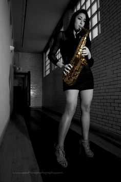 Letty, the sax player  http://goodtimephotography.com/girl-sax/