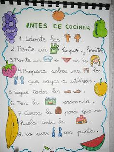 RECURSOS DE EDUCACION INFANTIL: LIBRO DE RECETAS