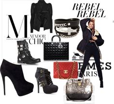 """""""rebel"""" by pascalelou on Polyvore"""