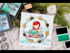 Mermazing Circle Spinner Card - YouTube