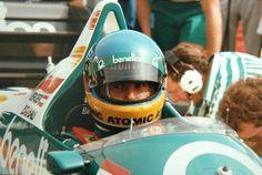 Gerhard Berger (1986) by F1-history.deviantart.com on @deviantART