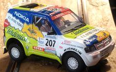 Ninco 50564. Mitsubishi Pajero. Dakar 2001. Miguel Prieto-Alvaro Velminho. #slotcar Mitsubishi Pajero, Slot Cars, Toy Story, Subaru, Rally, Collection, Cars, Slot Car Tracks