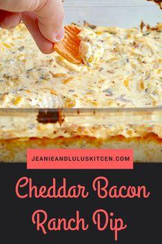Cheddar Bacon Ranch Dip