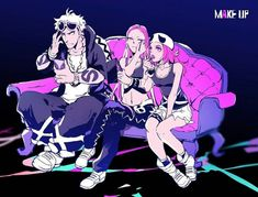 Guzma Plumeria and Team Skull Grunt