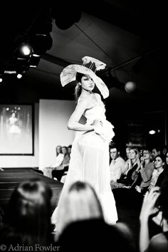Check out our Insider photos of Newcastle Fashion Week 2011 Runway show featuring Tipsy Orchestra, L'aude, Velvet Hummingbird & more. Newcastle, Headpiece, Runway, Couture, Concert, Crow, How To Wear, Photos, Fashion