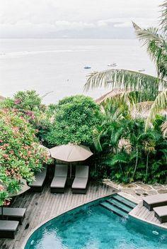 Bali House - Jelly #Palms #landscape