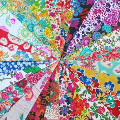 #PerriLewis makes a #LibertyPrint quilt