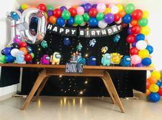 9th Birthday Parties, 11th Birthday, Birthday Party Invitations, Kids Party Decorations, Birthday Centerpieces, Birthdays, Amon, Ideas Decoración, Ideas Para