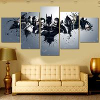 Printed Harley Quinn Joker Batman Painting On Canvas Room Decoration Print Poster Picture Canvas Wall Art (Unframed) Canvas Pictures, Pictures To Paint, Painting Pictures, Poster Pictures, Superhero Canvas, Batman Painting, Naruto Painting, Batman Poster, Nerd Cave