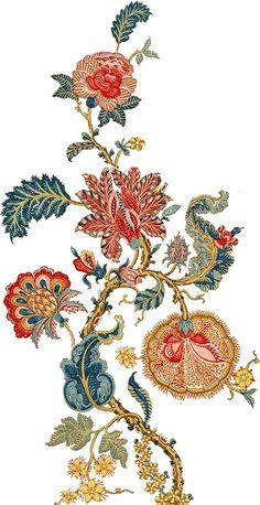 24 Best Ideas For Art Nouveau Flowers Stencil Embroidery Designs