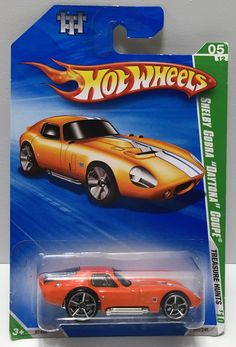 (TAS033970) - 2009 Mattel Hot Wheels Treasure Hunts Series - Shelby Cobra