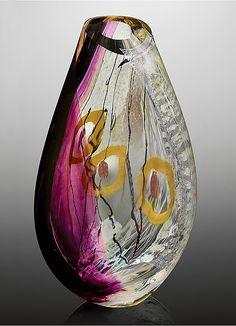 Miro by Randi Solin (Art Glass Sculpture) | Artful Home