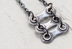 LilacPOP: fashion, photography, art: Jewelry Made from Bike Chain