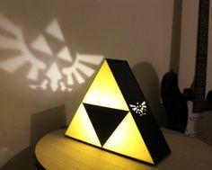 triforce lampe hyrule wappen
