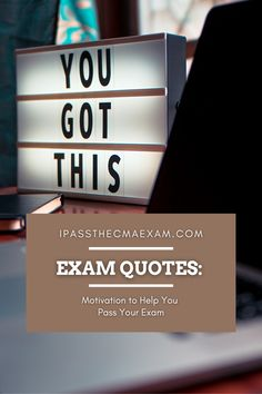 For those who are preparing for the CPA, CFA, CMA, CIA, or EA exams, or any board exam for that matter, you understand that this task requires a huge amount of time, effort, and sacrifice. At some point, we all need something to motivate us as we continue on with our studies. #Motivationalquotes #Inspiration #Quotes #CMA #CMAExam Exam Study Tips, Exams Tips, Career Path, Career Advice, Accounting Student, Cpa Exam, Exam Quotes, Career Exploration, Board Exam
