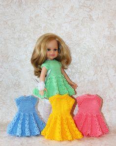 МК. Вяжем платье для куклы Паола Рейна, совместное творчество - https://babiki.ru/blog/online-svoimi-rukami/87590.html
