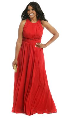Rent the Runway adds plus sizes! Love this gorgeous Badgely-Mischka gown for rent.