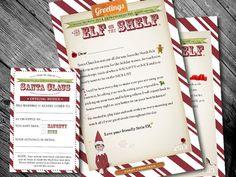 Printable Elf on the Shelf Letters!