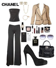 """""""Nothing But CHANEL"""" by vballgurl9 ❤ liked on Polyvore featuring Chanel"""