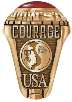 This is a wonderful ring to honor any soldier who fought during the #Vietnam campaign of the sixties and seventies.