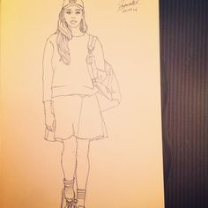 Fashion Sketch #007