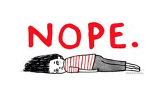 "If you don't live with anxiety and/or depression (or know someone who does), these illustrations will probably not mean a lot to you. If you, like me, do suffer from one or both, then these illustrations will hit close to home. The wording and situations nail it, IMO.   Artist Gemma Correll sums up—with some humor—what it's like to suffer from these sometimes debilitating medical disorders.   ""I honestly think that humor can be a saviour at times of distress or, if you just live with a co..."