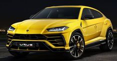 Pirelli Developed Six Different Tires For The Lamborghini Urus #Lamborghini #Lamborghini_Urus