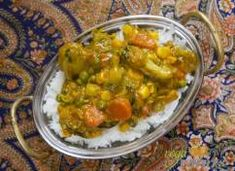 Vegyes zöldség kari - Vegavarazs Guacamole, Chili, Curry, Mexican, Stuffed Peppers, Vegetables, Ethnic Recipes, Food, India
