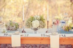 table decor?