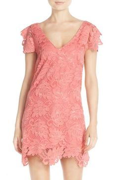 BB Dakota 'Jacqueline' Lace Shift Dress