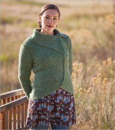 Barcelona Jacket Knitting Pattern