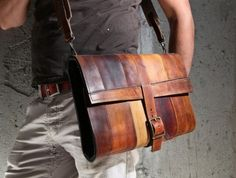 The Fullgive Leather MacBook Case $219