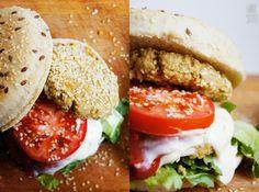 Wilk Syty: Sezamowe burgery jaglane.