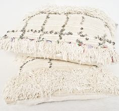 moroccan handira pillows