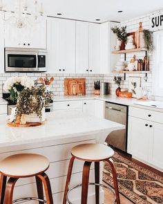 DIY Home Decor, think about these elegant home decor plans seriously. A summary info number 4919913084 now. Home Decor Kitchen, Home Decor Bedroom, Kitchen Interior, Diy Home Decor, Room Decor, Kitchen Ideas, Diy Kitchen, Apartment Kitchen, Kitchen Design