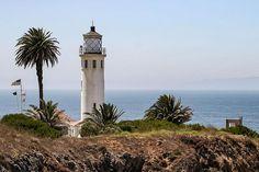 Point Vicente #Lighthouse - located on Los Angeles' Palos Verdes peninsula, #CA http://dennisharper.lnf.com/