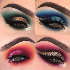 Gorgeous Makeup: Tips and Tricks With Eye Makeup and Eyeshadow – Makeup Design Ideas Hooded Eye Makeup, Eye Makeup Tips, Makeup Dupes, Smokey Eye Makeup, Makeup Ideas, Makeup Stuff, Dramatic Eyeshadow, Makeup Box, Makeup Tutorials
