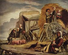 Le Nain - The return of the harvest.