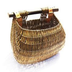 Guernsey Willow Bicycle Basket, 163€, now featured on Fab.