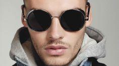 New-VINTAGE-STEAM-PUNK-Tops-round-Fashion-steampunk-Metal-Star-Men-Retro-CIRCLE-sunglasses-Women-oculos.jpg (726×405)