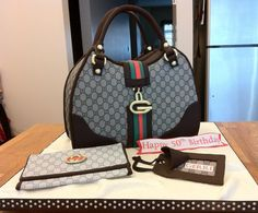 Gucci Purse Cake #cake