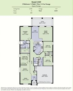 Meritage Homes - Winterset Floor Plan