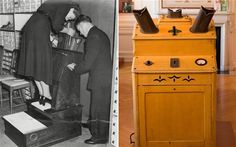 An X-ray box once used to fit shoes was fun - but potentially dangerous