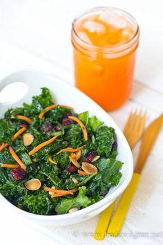 Sweet, Sexy Summer #Kale #Salad - My secret to #summer #weightloss!!
