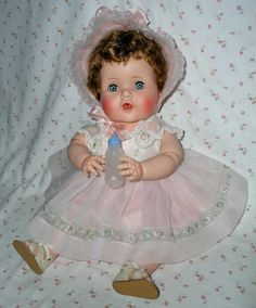"20"" American Character 1956 Jointed Toodles (The Action Baby) -- All Original -- MINT Beauty!"