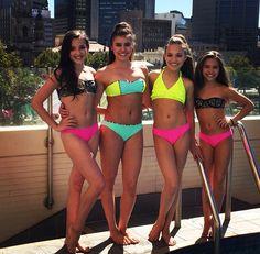 Kendall, Kalani, Maddie & Mackenzie