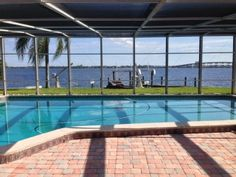 Casa Del Rio, Tropical Resort Feel, Breathtaking River Views, Large Pool & DockVacation Rental in Cape Coral from @HomeAway! #vacation #rental #travel #homeaway