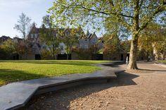 Cloister Garden by Michael van Gessel « Landscape Architecture Platform Landscape And Urbanism, Landscape Concept, Garden Landscape Design, Contemporary Landscape, Urban Landscape, Landscaping Software, Modern Landscaping, Garden Landscaping, Sacred Architecture