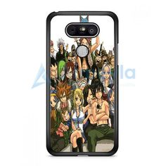 Fairy Tail Manga Collage LG G5 Case | armeyla.com